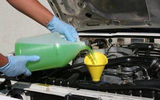 Промывка системы охлаждения двигателя в домашних условиях — чем и как промыть