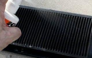 Как и чем промыть радиатор охлаждения двигателя самостоятельно — промывка не снимая