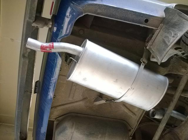 Глушитель ВАЗ 2104: выбор, крепление, замена, инструкции с фото и видео
