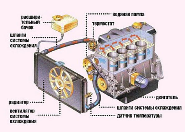 Промывка системы охлаждения двигателя в домашних условиях - чем и как промыть
