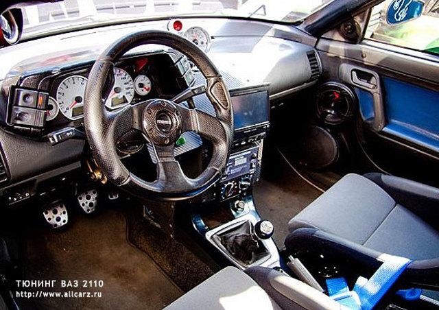 Тюнинг салона ВАЗ 2110 своими руками в домашних условиях с фото - доработка, переделка