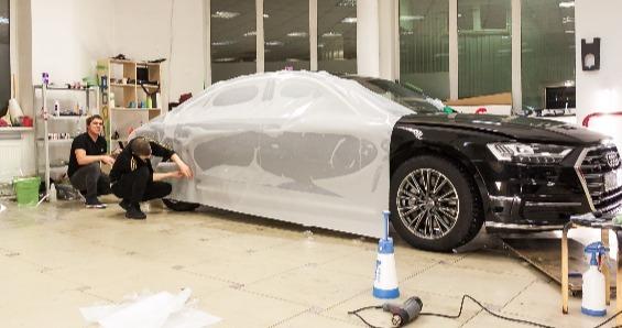 Защитная пленка на авто (виниловая, атермальная, антигравийная, полиуретановая, карбоновая и тд)