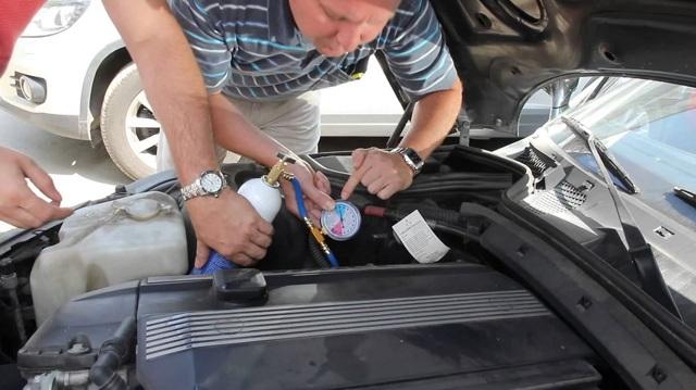 Как часто нужно заправлять кондиционер в автомобиле, заправка своими руками