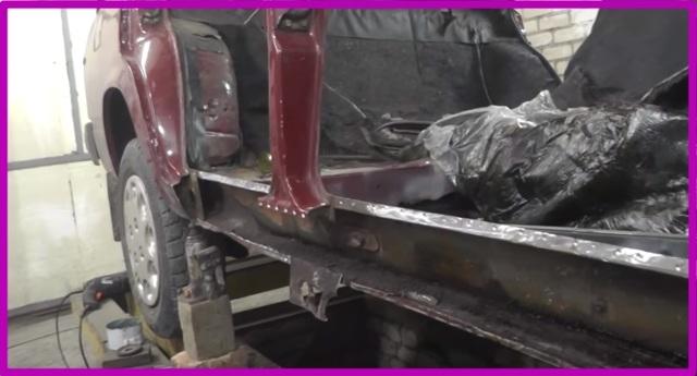 Замена порогов ВАЗ 2107: какие поставить, антикоррозионная обработка, установка пластиковой накладки, инструкции с фото и видео