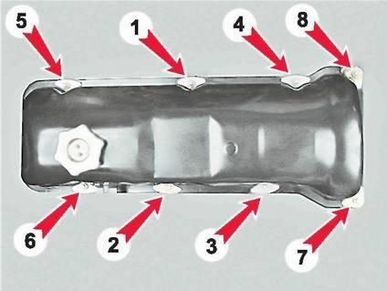 Замена успокоителя цепи ВАЗ 2107: как правильно снять и установить, инструкции с фото и видео