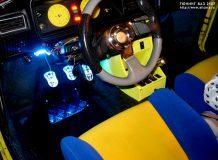Тюнинг салона и двигателя ВАЗ 2105 своими руками, фото