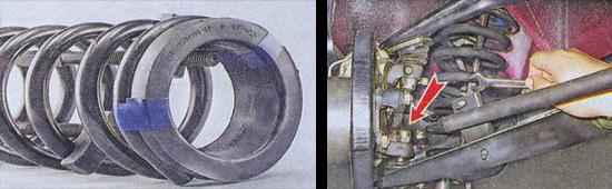 Какие передние пружины лучше поставить на ваз 2107, замена, снятие и установка , инструкции с фото и видео