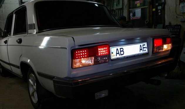 Задние фонари ВАЗ 2106: почему не горят, схема подключения