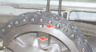Замена цепи ГРМ ВАЗ 2106: установка по меткам, инструкции с фото и видео