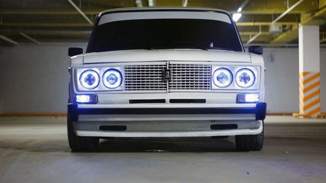 Тюнинг фар и подвески ВАЗ 2106 своими руками, прямоток, ангельский глазок и спойлер, фото и видео модернизированной шестерки