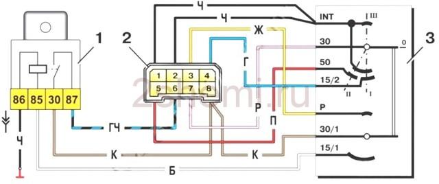 Замок зажигания ВАЗ 2101: схема подключения, замена, инструкции с видео и фото