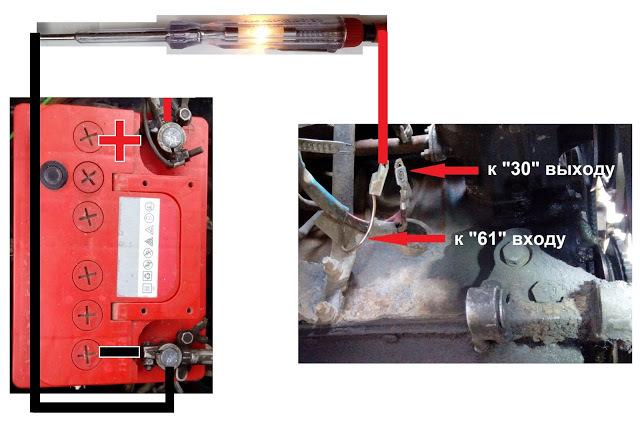 Не дает зарядку генератор ВАЗ 2107 инжектор и карбюратор: почему горит лампочка аккумулятора, признаки, причины и способы устранения, инструкции с фото и видео