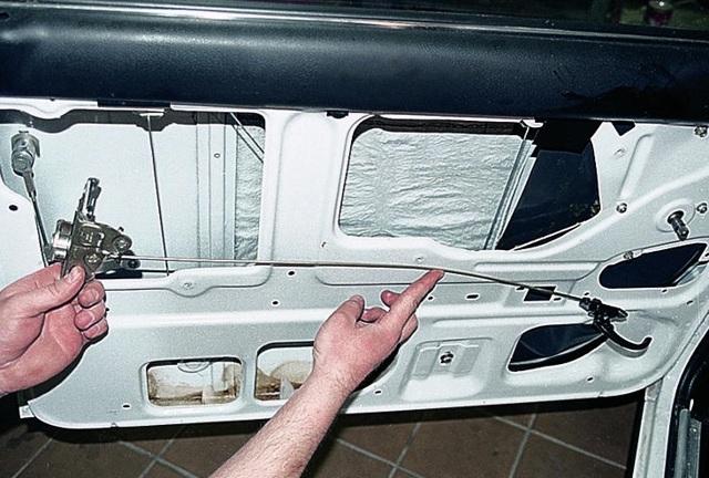 Регулировка дверей ВАЗ 2107, ремонт и замена замков, как снять карту, инструкции с фото и видео