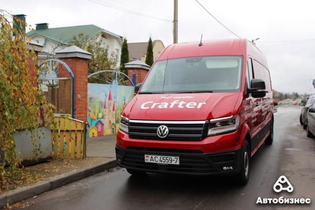 Фольксваген Крафтер (volkswagen crafter) грузовой, пассажирский - обзор, фото, отзывы
