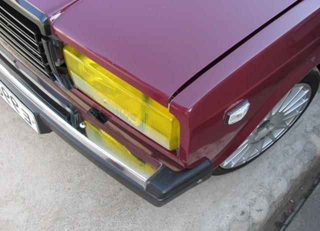 Тюнинг фар, габаритов, передних и задних фонарей ВАЗ 2107, инструкции с фото и видео