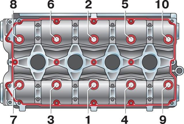 Распредвал ВАЗ 2107: какой поставить, замена и порядок затяжки, инструкции с фото и видео
