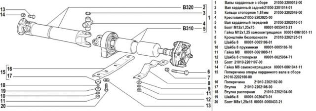 Замена подвесного подшипника на ВАЗ 2107: как проверить и поменять эластичную муфту карданного вала, смазать отцентрировать, инструкции