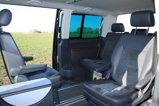 Тест драйв фольксваген Мультивен (volkswagen multivan) и испытание на безопасность, видео