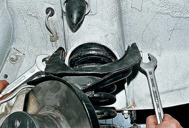 Замена сайлентблоков верхних и нижних рычагов передней подвески ваз 2107, как правильно поменять, пользоваться съемником, инструкции с фото