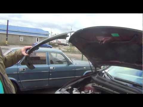 Дефлектор (мухобойка) на капот: как установить, крепление и тд