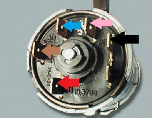 Замок зажигания ваз 2107: схема подключения, замена, как снять, инструкции с фото и видео