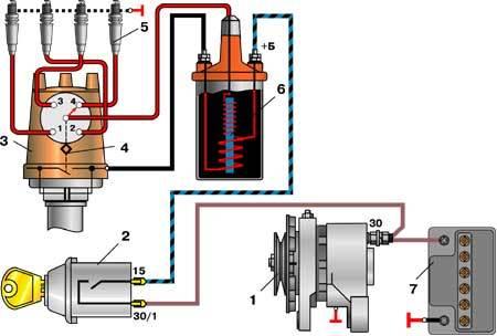 Задние фонари ВАЗ 2107: схема подключения, неисправности, замена и ремонт, инструкции с видео и фото