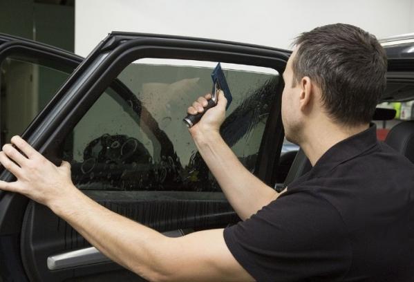 Тонировка ВАЗ 2107: как затонировать лобовое, заднее и боковое стекло, инструкции с фото и видео