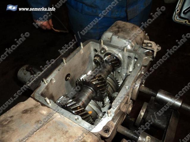 Первичный вал КПП ВАЗ 2107: замена вала и подшипника, инструкции с фото и видео