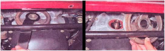 Замена переднего и заднего сальника коленвала ВАЗ 2107, инструкции с фото и видео