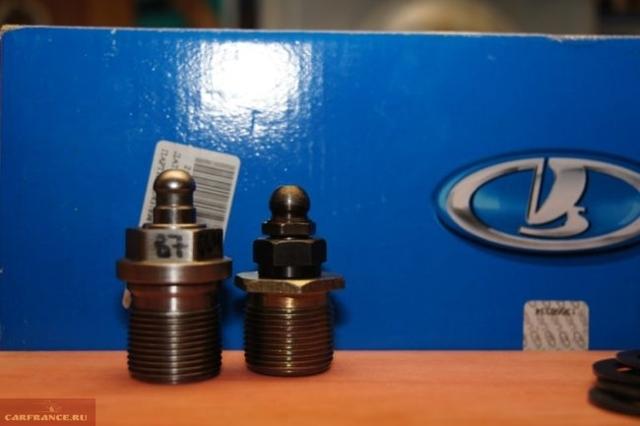 Установка гидрокомпенсаторов на ВАЗ 2107, замена рокеров, инструкции с фото и видео
