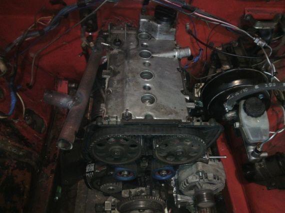 Установка 16 клапанного двигателя на ВАЗ 2107 и другие модели классик