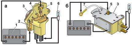 Трехуровневый реле регулятор ВАЗ 2107: схема, проверка напряжения, ремонт, инструкции с фото, видео