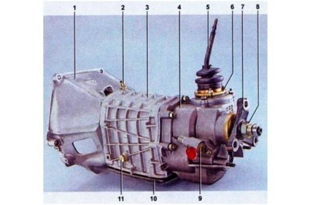 Коробка передач ВАЗ 2107 пяти ступка: схема, устройство и технические характеристики, фото и видео