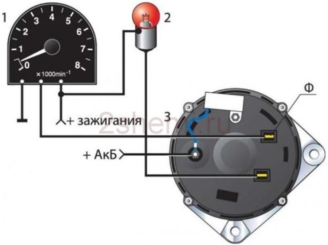 Тахометр ВАЗ 2106: устройство, как работает, неисправности, схема подключения, как заменить