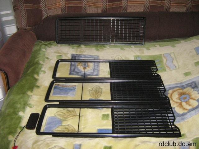 Сплошная и разъемная решетка радиатора ВАЗ 2106: как снять, какую можно поставить, инструкции с фото и видео
