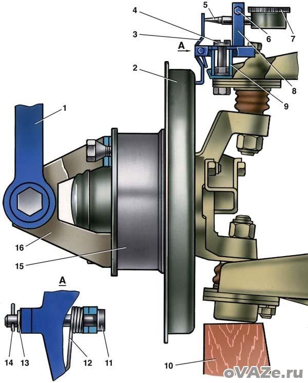Передняя подвеска ваз 2107: схема, устройство, ремонт рычагов, инструкции с фото и видео