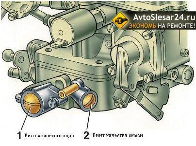 Карбюратор Солекс ВАЗ 2107 (21073): установка, устройство и регулировка, инструкции с фото и видео