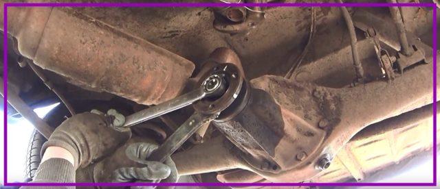 Задний мост ВАЗ 2107: устройство и ремонт, замена сальника хвостовика, инструкции с фото и видео