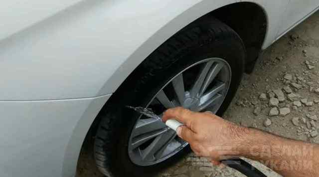 Чернение резины на авто своими руками - как чернить, чем (в тч глицерином), способы