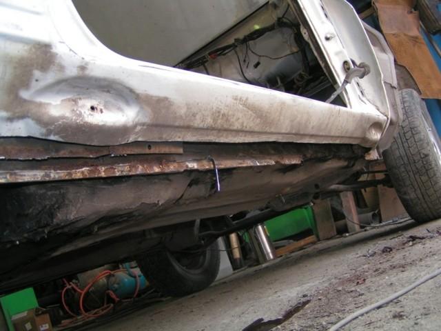 Описание и ремонт кузова ВАЗ 2101: замена порогов, сварка днища в новой копейке, инструкции с фото и видео