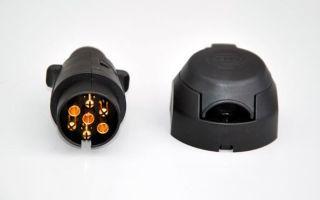 Как установить фаркоп на ВАЗ 2107, подключение розетки, инструкции с фото и видео