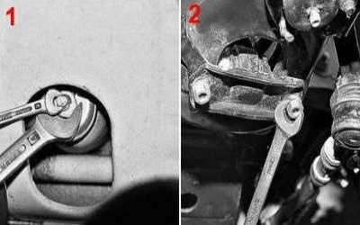 Передний амортизатор ВАЗ 2107: какие лучше, крепление, замена, инструкции с фото и видео