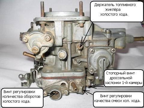 Устройство, регулировка и ремонт карбюратора ДААЗ ВАЗ 2105 своими руками, инструкции по настройке с фото и видео