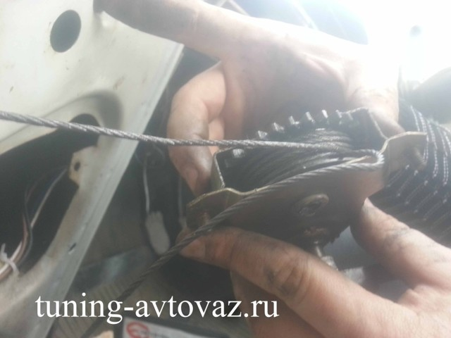 Замена, установка и регулировка стеклоподъемника ваз 2106, инструкции с фото и видео