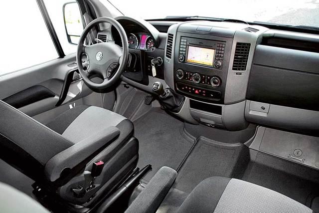 Фольксваген Крафтер грузовой, пассажирский - технические характеристики: габариты, грузоподъемность, клиренс и др